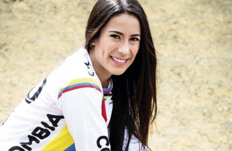 """Critican a Mariana Pajón por """"bicicleta de oro"""" y ella responde de forma divertida, ¡que linda es Mariana!"""