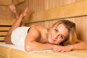 ¿Estresada? ve al sauna, cierra los ojos, relaja tu mente y cuerpo