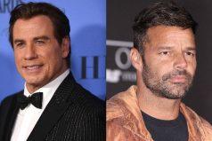 John Travolta ayudó a Ricky Martin en una difícil situación, ¡que viva la libertad!