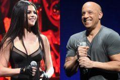 Vin Diesel se le midió a cantar una canción con Selena Gomez