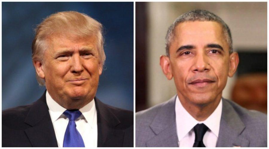 """Donald Trump criticó el legado de Barack Obama, """"heredé un desastre"""""""