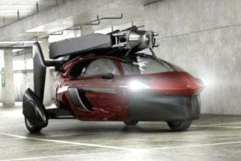 ¿Pagarías más de 1.700 millones de pesos por un carro volador?