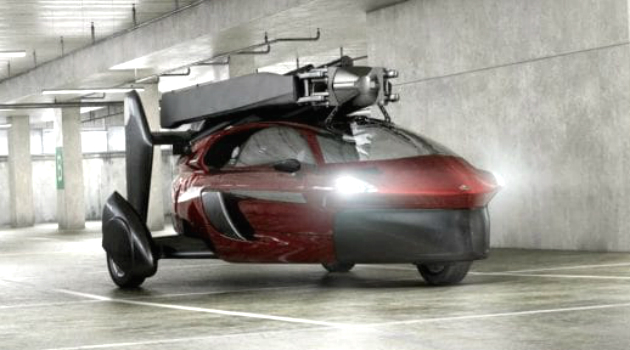 Los carros voladores están cada vez más cerca de ser una realidad