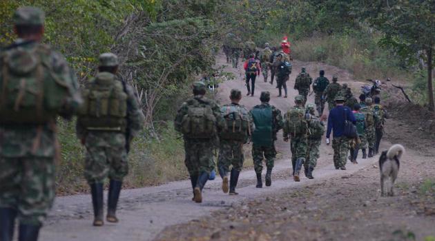 Cerca del 90 % de guerrilleros ya están en las zonas veredales