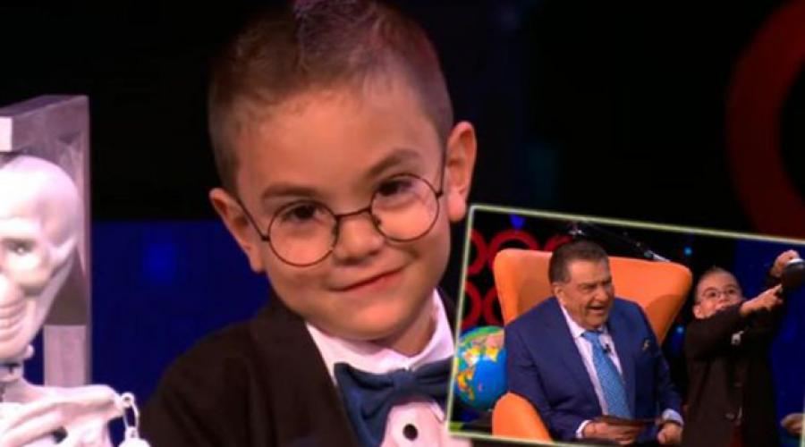 Con solo 5 años, tiene el coeficiente intelectual de Einstein, ¡y es colombiano!