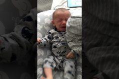 ¡Nada como el olor de mamá! El truco de este padre para calmar el llanto de su bebé… ¡En menos de un minuto!
