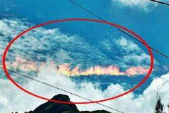 ¡Un arco iris de fuego! El hermoso pero terrorífico fenómeno natural que sorprendió a todos en Chiclayo (Perú)