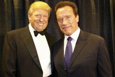 Arnold Schwarzenegger se aburrió de Donald Trump, ¡ya era hora!!!