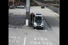 ¿Fue imprudente o evitó un accidente mayor? El dilema de este conductor atravesando una estación. ¡Pudo ser una tragedia!