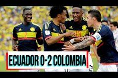¡Gracias muchachos! Revive los goles de Colombia a Ecuador que nos tienen más cerca de Rusia 2018