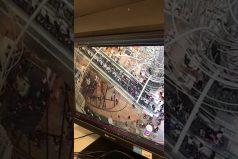 ¡Qué miedo! Mira lo que ocurrió con una escalera eléctrica en Hong Kong. ¡Para una 'peli' de terror!
