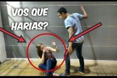 Si ves que golpean a una mujer, ¿qué harías? Este experimento social te sorprenderá con la reacción de la gente
