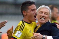 Así se mentalizó James para ganarle a Bolivia, ¡gran truco!
