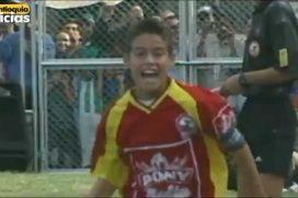 El gol olímpico de James Rodríguez: recuerdo de cómo jugaba el crack a los 12 años