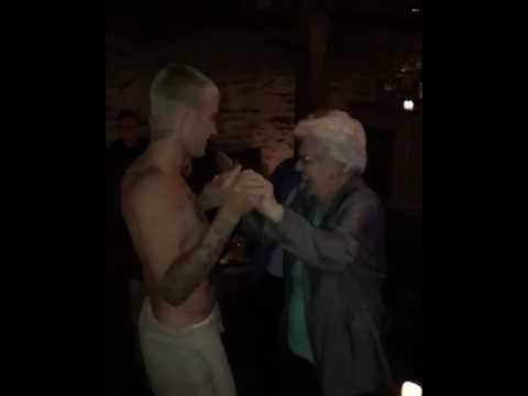 Justin-Bieber-Cute-Dance-With-An-Old-Lady