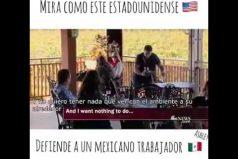 ¡Así se debe actuar! Un estadounidense defiende a los mexicanos… ¡Y sorprende gratamente al mundo!