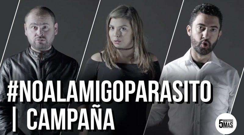 NoAlAmigoParasito-Campaña
