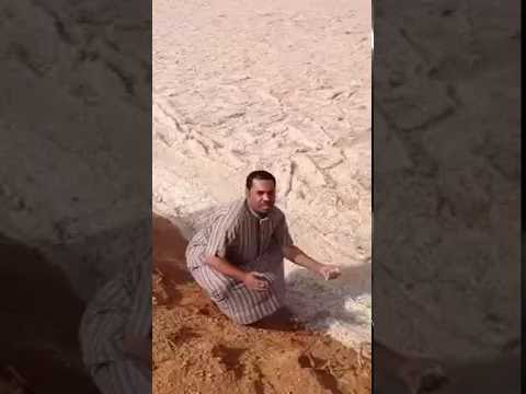 Río-de-arena-en-Irak.-Increíble-arena-en-movimiento...-Como-el-río...-La-naturaleza-es-genial.
