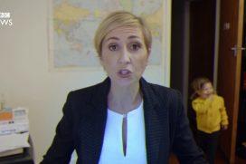 ¡Jajaja! La parodia de la entrevista interrumpida a la BBC… ¡Si hubiera sido con una mujer!