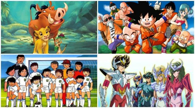 Los grupos de amigos que marcaron nuestra infancia, ¡nos encantan los dibujos animados!