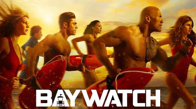 Esto es lo que opina 'La Roca' de sus nuevos compañeros de Bay Watch