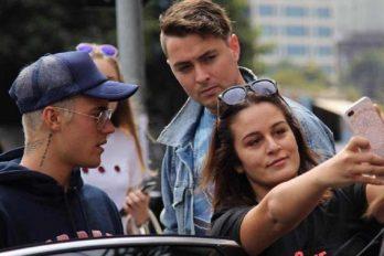 Justin Bieber, el cantante que odia a sus fans. ¿Ahora qué hizo en Australia?