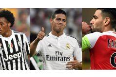 Tres colombianos estarán en los Cuartos de final de la Champions League