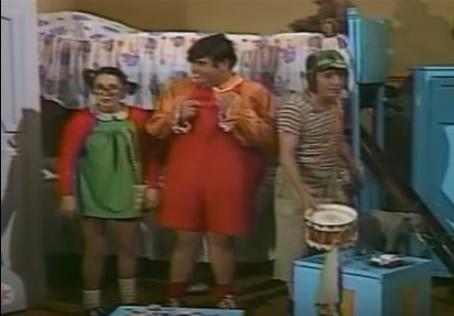 El día que el Chavo visitó la casa de Ñoño y se puso su pijama