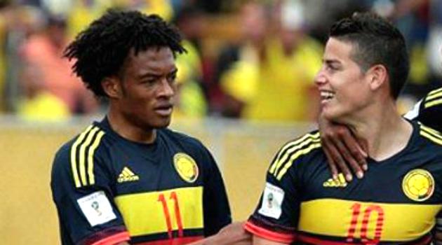 Con James y Cuadrado, regresaron los goles y la alegría a la Selección