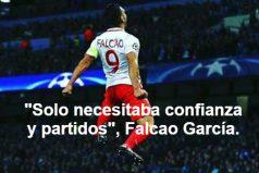 El gol de Falcao, el mejor de los octavos de la Champions