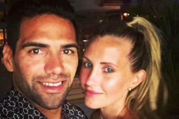 Esposa de Falcao confirma lo que todos los hinchas de un equipo de Colombia querían saber