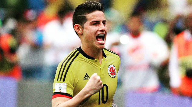 Un James GOLEADOR en las Eliminatorias