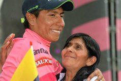 """""""Feliz día a todas las mujeres y en especial a las apasionadas al ciclismo"""", Nairo Quintana"""
