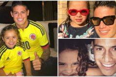 Salomé, la hija de James Rodríguez retó a su papá y ¡adivina quién ganó!