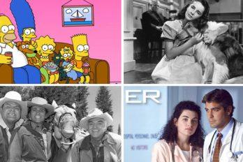 ¿Sabes cuáles son las 10 series de televisión que más han durado en el tiempo?