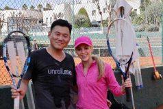 ¿Quién es el misterioso japones qué juega tenis con Shakira? Quedarás asombrado