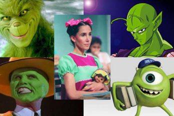 Estos 10 personajes verdes se quedaron para siempre en nuestra corazón