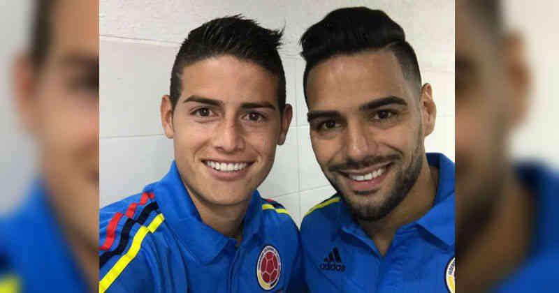 Falcao y James