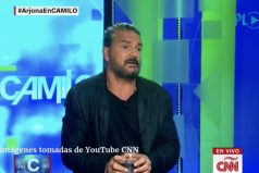 Ricardo Arjona abandona una entrevista en CNN ¿Crees que se molestó justificadamente?