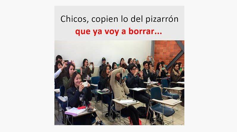 Alumnos en un salón de clases