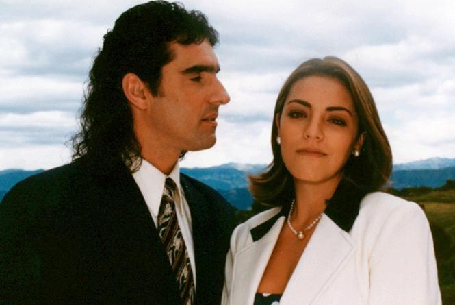Escamoso y esposa