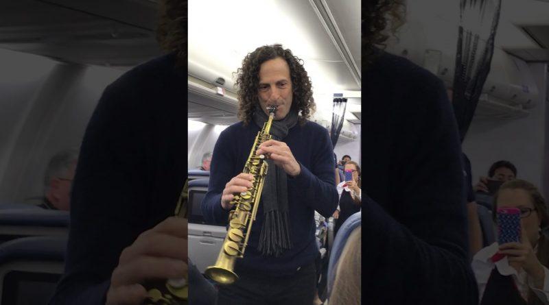 Kenny-G-Serenades-Delta-Airlines-Passengers-En-Route-to-San-Francisco