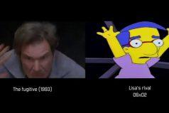 ¿Te gustan 'Los Simpson'? Te sorprenderán  sus escenas inspiradas en películas. ¡Impresionante!