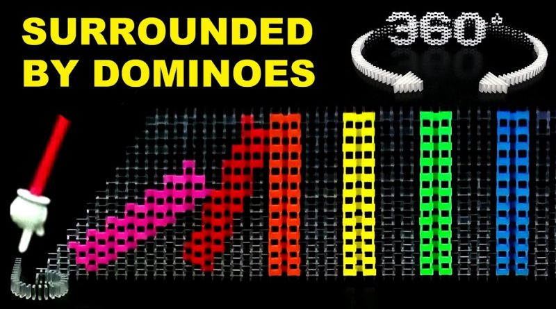 Surrounded-by-Dominoes-360°-Video