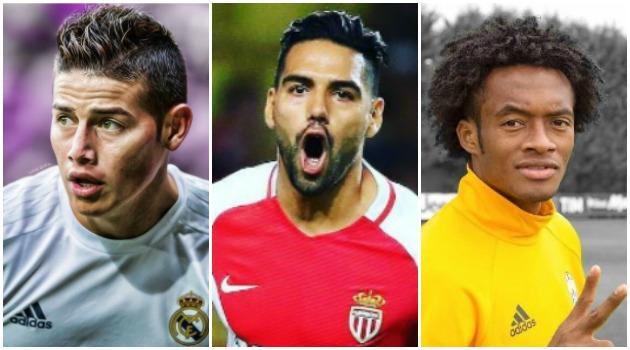 Mira por qué estos tres colombianos hacen historia en la Champions League