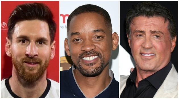 ¿Qué tienen en común Lionel Messi, Will Smith y Sylvester Stallone?