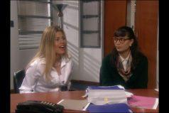 Así fue su reencuentro de Betty con la malvada Patricia después de 17 años, ¡la peliteñida no cambia!