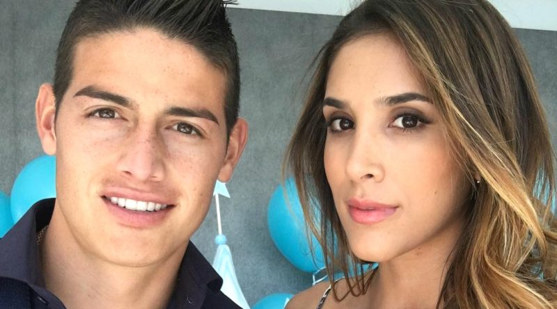 Las fotos de James Rodríguez y Daniela Ospina cuando no eran tan famosos