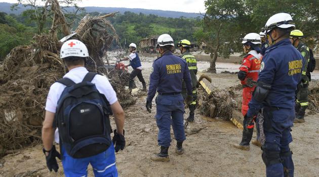 Farc quiere ayudar con la reconstrucción de Mocoa