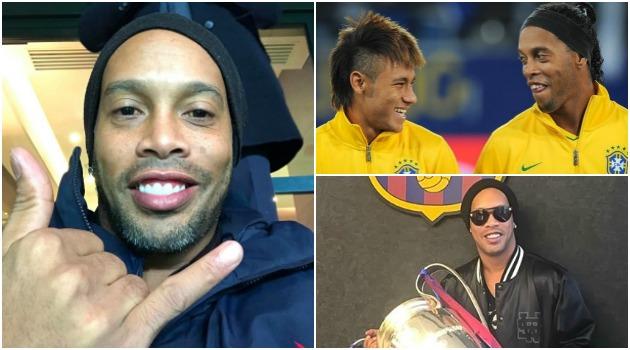 Ronaldinho cambia de profesión. ¡Nace una nueva estrella!